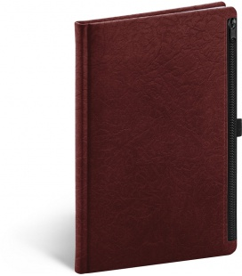 Notebook A5 Hardy, red, lined 2021