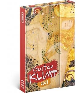 Magnetic weekly diary Gustav Klimt 2021