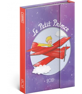 Magnetic weekly diary Le Petit Prince – Airplane 2021