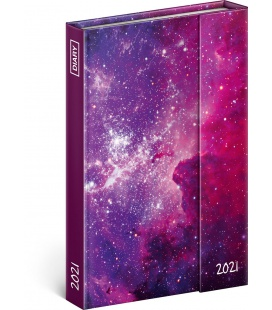 Magnetic weekly diary Galaxy 2021