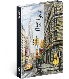 Magnetic weekly diary New York 2021