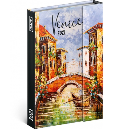 Magnetic weekly diary Venice 2021