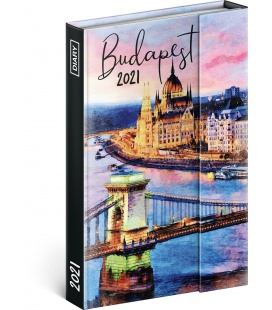 Magnetic weekly diary Budapest 2021