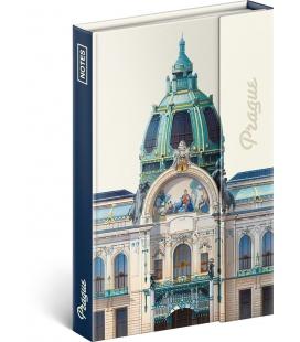 Notebook pocket magnetic Prague – Libero Patrignani, lined 2021