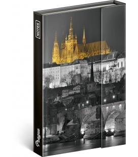 Notebook pocket magnetic Prague – Jakub Kasl, lined 2021