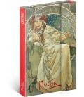 Notebook pocket magnetic Alphonse Mucha – Princess, lined 2021