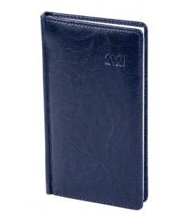 """Weekly Pocket Diary A6 koženka """"obšitá"""" 2021"""