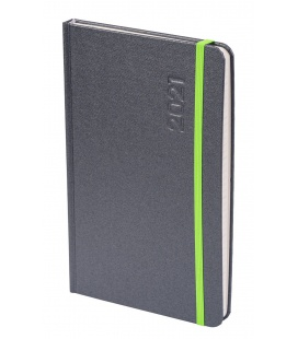 "Weekly Diary - Notepad ""TREND"" Plátno grey, green 2021"