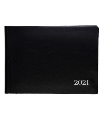 Weekly diary 803  PVC black 2021