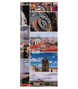 "Diary - Planning monthly notebook 718 Lamino ""PRAHA"" 2021"