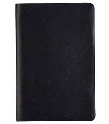 Diary - Planning monthly notebook 919 PVC black 2021