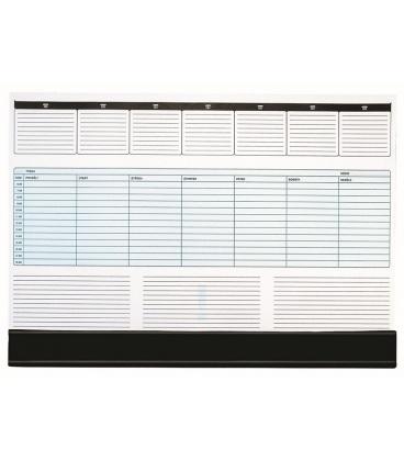 Table calendar map A2 weekly UNI 30 listů + PVC klapna 2021