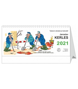 Table calendar Jaroslav Kerles 2021