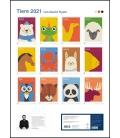 Wall calendar Dawid Ryski: Tiere (Dawid Ryski) 2021