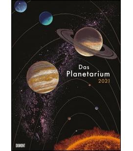 Wall calendar Das Planetarium 2021