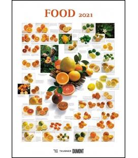Wall calendar Food 2021