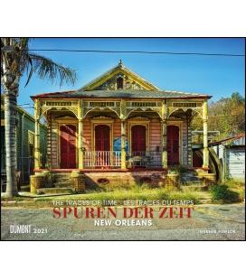Wall calendar Spuren der Zeit - (New Orleans) (Werner Pawlok) 2021