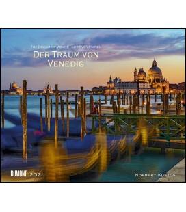 Wall calendar Der Traum von Venedig 2021