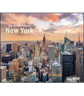 Wall calendar Über den Dächern von New York 2021