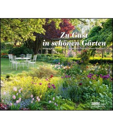 Wall calendar Zu Gast in schönen Gärten (Elke Borkowski) 2021