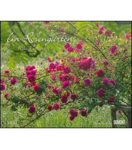Wall calendar Im Rosengarten (Clive Nichols) 2021