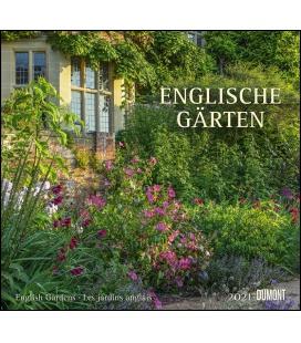 Wall calendar Englische Gärten 2021