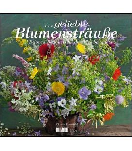 Wall calendar ...geliebte Blumensträuße (Christel Rosenfeld) 2021