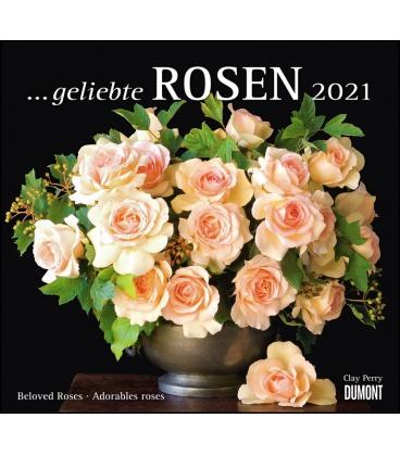 Wall calendar ...geliebte Rosen 2021