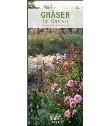 Wall calendar Gräser im Garten  (Jürgen Becker) 2021