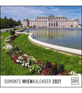 Wall calendar Wien 2021