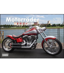 Wall calendar Motorräder & Routen 2021