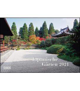 Wall calendar Japanische Gärten 2021