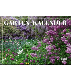 Wall calendar Gartenkalender 2021