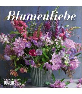 Wall calendar Blumenliebe (Christel Rosenfeld) 2021