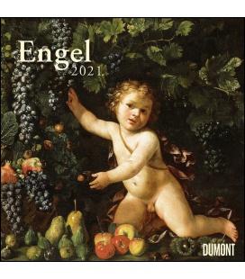 Wall calendar Engel 2021