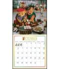 Wall calendar Teddybär 2021
