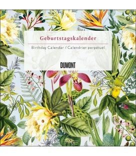 Wall calendar Geburtstagskalender floral 2021
