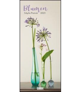 Wall calendar Blumen (Sibylle Pietrek) 2021