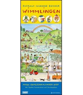 Wall calendar Megaplaner Wimmlingen 2021