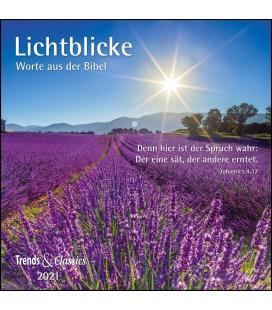 Wall calendar Lichtblicke T&C 2021