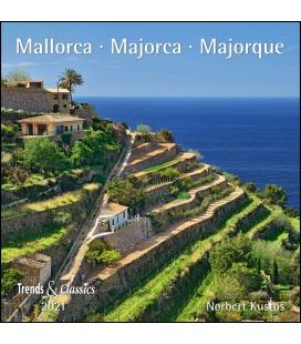 Wall calendar Mallorca T&C 2021