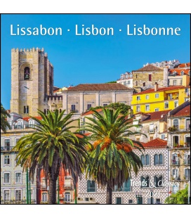 Wall calendar Lissabon T&C 2021