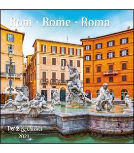 Wall calendar Rom T&C 2021