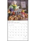 Wall calendar Teddy T&C 2021