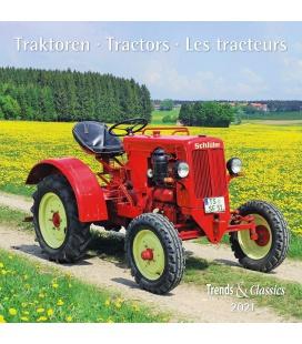 Wall calendar Traktoren T&C 2021
