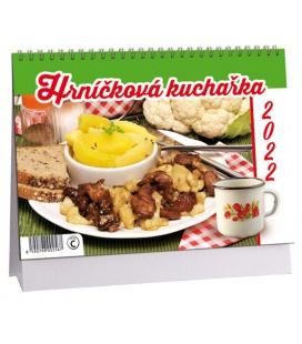 Table calendar Hrníčková kuchařka 2022