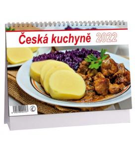 Table calendar Česká kuchyně 2022