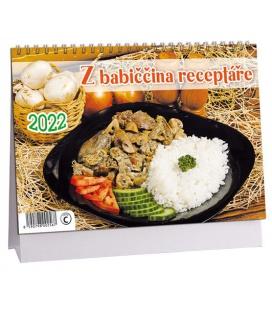 Table calendar Z babiččina receptáře 2022