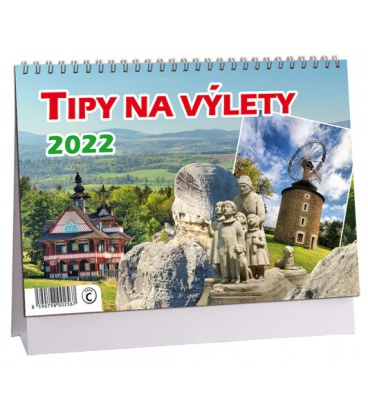 Table calendar Tipy na výlet 2022