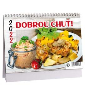Table calendar Dobrou chuť 2022